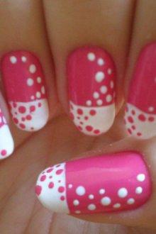 Примеры узоров на ногтях