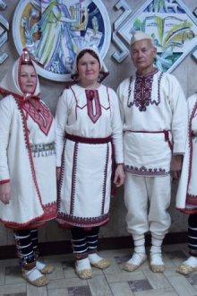 Основные части народного костюма