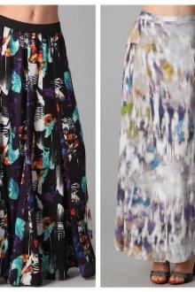 Особенности юбок из тонких тканей