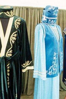 История формирования национальной одежды татар