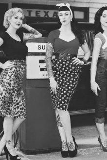 Стильный гардероб из 50-х