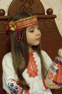 Детский национальный костюм костюм