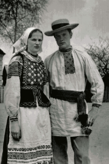 Городская национальная Белорусская одежда
