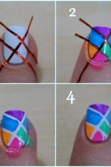 Как наносить на ногти