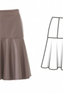 Расклешенные юбки: особенности фасона