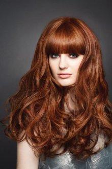 Волосы с бронзовым отливом
