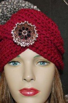 Способы вязания шапки-тюрбана спицами