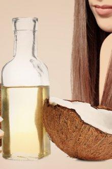 Кокосовое масло для кожи головы, корней и локонов