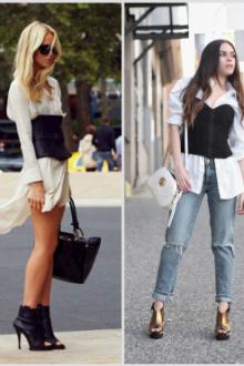 Как носить корсет, чтобы красиво выглядеть