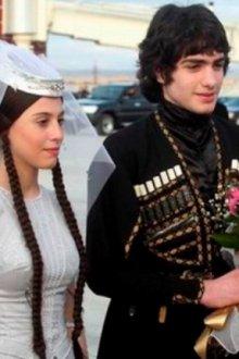 Грузинский свадебный наряд
