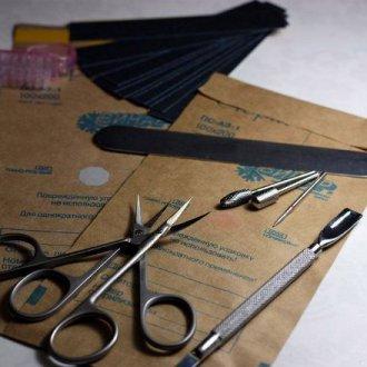 Обработка маникюрных инструментов