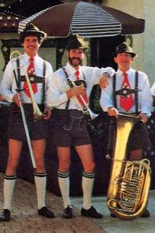 Что относится к этническому костюму немцев