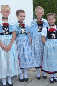 Национальный немецкий костюм для девочки