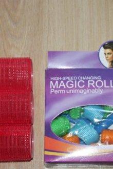 Волшебные круглые бигуди Magic Roller