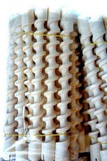 Деревянные спиралевидные бигуди для завивки волос<