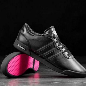 Кожаные кроссовки «Адидас»
