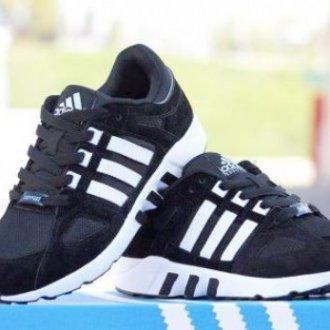 Adidas Equipment Running 93 черные с белым