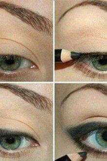 Как подвести глаза карандашом