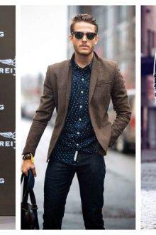 Как носить пиджак с джинсами