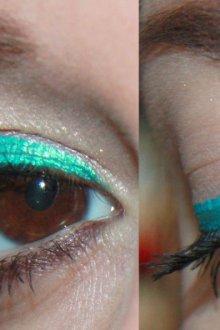 Цветные подводки для глаз