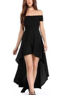 Платье-маллет