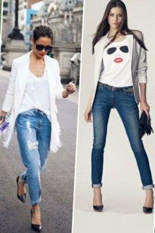 Блейзеры со свободным покроем: с чем носить белый пиджак
