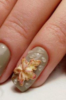Как сделать капли на ногтях