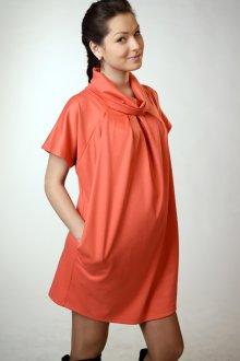 Оранжевая туника для беременных