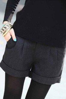Зимние женские шорты