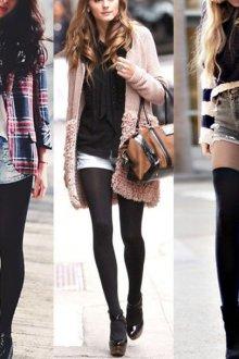 Зимние, весенние образы с утепленными шортами