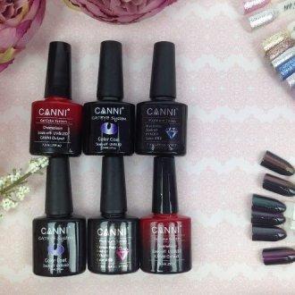 Особенности гель-лака для ногтей Canni