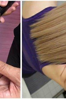 Как работает полировальная машинка для волос