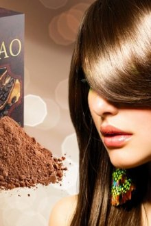 Рецепты окрашивающих составов с какао