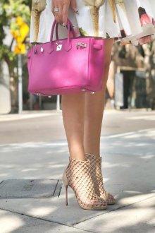 Мода на сумки и обувь