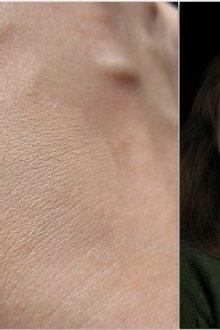 Матирующая пудра для жирной кожи