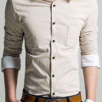 С чем носить рубашки с закатанным рукавом