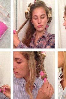 Как накрутить бигуди на короткие волосы