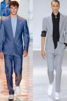 Стильные молодежные мужские костюмы