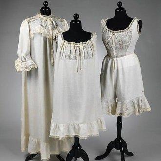 История возникновения ночной сорочки