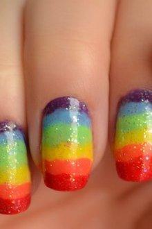 Цветной стемпинг: модные решения