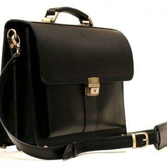 Мужской черный портфель
