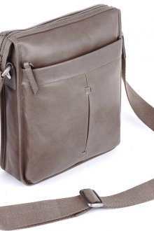 Мужская светло-коричневая сумка планшет