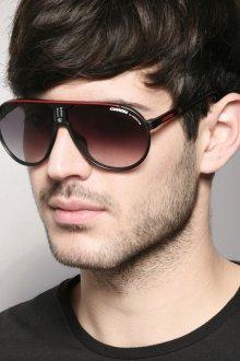 Стильные черные мужские солнцезащитные очки
