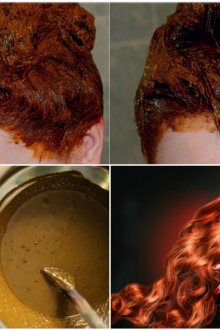 Особенности хны для волос