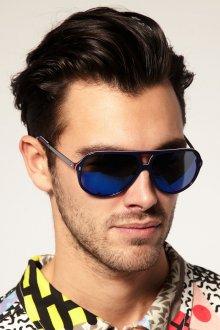 Стильные синие мужские солнцезащитные очки