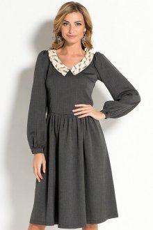 Особенности платья с воротником