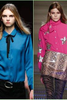 Женские рубашки с узорами и украшениями