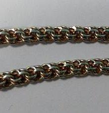 Изящная роскошь цепочек с плетением «Бисмарк»