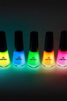 Люминесцентные лаки для ногтей