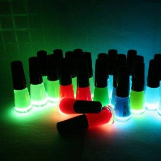 Разновидности светящихся лаков